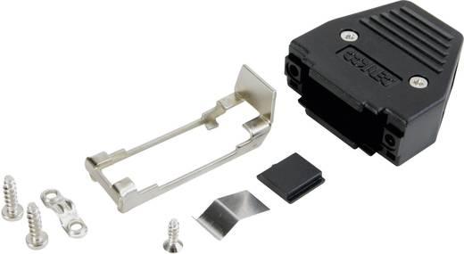 D-SUB doboz pólusszám: 25 műanyag 180 ° Fekete Conec 165X11299XE 1 db
