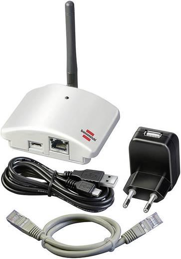 Ház automatizáló, vezérlő rendszer okostelefon alkalmazással, Brennenstuhl Gateway GWY 433