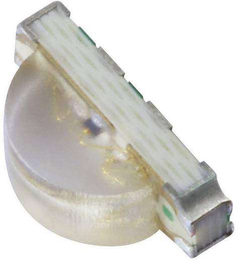 SMD LED, többszínű Egyedi forma Piros, Zöld, Kék 140 mcd, 300 mcd, 70 mcd 120 ° 20 mA 2 V, 3.3 V, 3.3 V Kingbright KPFA-