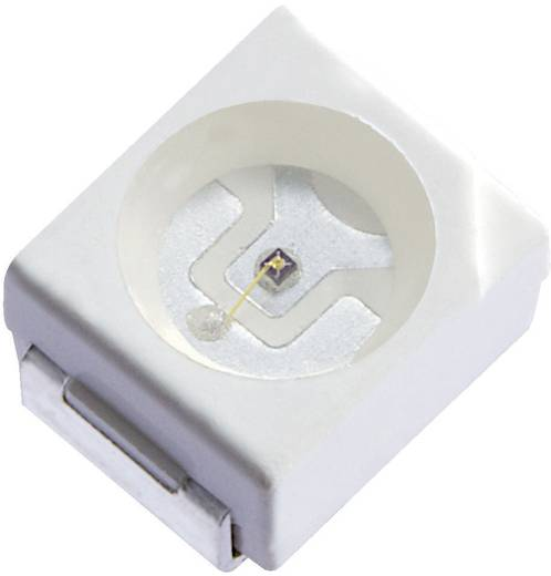 SMD LED PLCC2 Sárga 200 mcd 120 ° 20 mA 2 V Kingbright KA-3528SYCKT