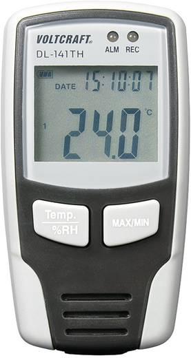 Hőmérséklet és páratartalom adatgyűjtő, klíma adatgyűjtő Voltcraft DL-141TH