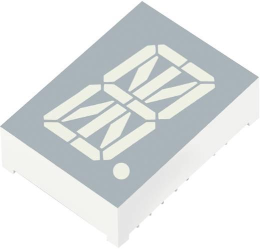 Alfanumerikus szegmens kijelző, zöld 20.32 mm 2 V Számjegyek: 1 Kingbright PSA08-11CGKWA