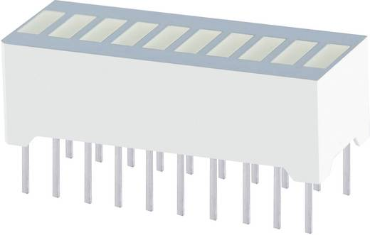 Bargraph LED 10 szeres Piros (Sz x Ma x Mé) 25.4 x 10.16 x 8 mm Kingbright DC-10SURKWA