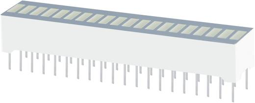 Bargraph LED Piros (Sz x Ma x Mé) 50.7 x 10.16 x 8 mm Kingbright DC-20/20SURKWA