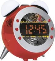 Rádiós ébresztőóra, piros, Soundmaster UR 140, soundmaster
