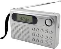 Világvevő zsebrádió, URH, KH, HH, RH, ezüst, Soundmaster WE320 soundmaster