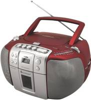 CD-s rádió, URH, KH, piros, SoundMaster SCD5405RO soundmaster