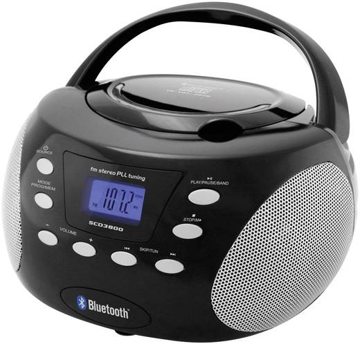 CD-s rádió, Bluetooth®, URH, Soundmaster SCD3800SW