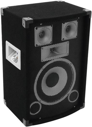 Omnitronic DS-83 MKII passzív hangfal, 3 utas diszkóhangfal 150/300W 8 Ω
