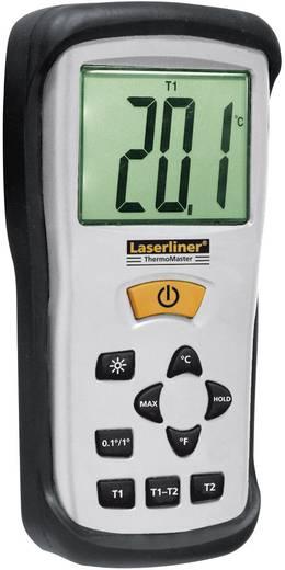 Ipari, laboratóriumi hőmérő K típusú érzékelővel -50 bis +1300 °C-ig Laserliner 082.035A