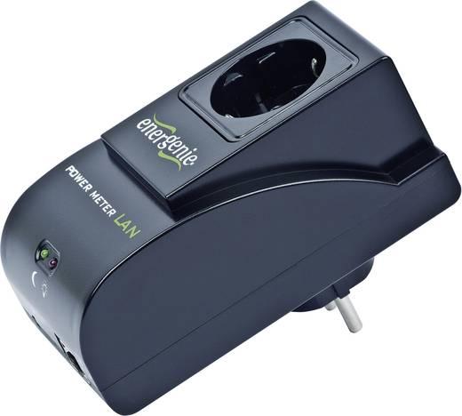 Energiamérő készülék LAN csatlakozással, Gembird EGM-PWM-LAN