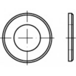 Alátétek Belső Ø: 54 mm DIN 125 Acél Galvanikusan cinkezett 1 db TOOLCRAFT 105439 TOOLCRAFT