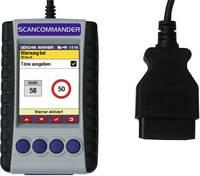 Hibakód olvasó, gépjármű diagnosztikai műszer OBD II csatlakozóaljzattal Diamex 7207 ScanCommander (7207) Diamex