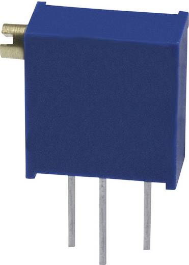 Trimmer potméter Bourns 3296Z-1-504LF 500 kΩ zárt 0,5 W ± 10 %