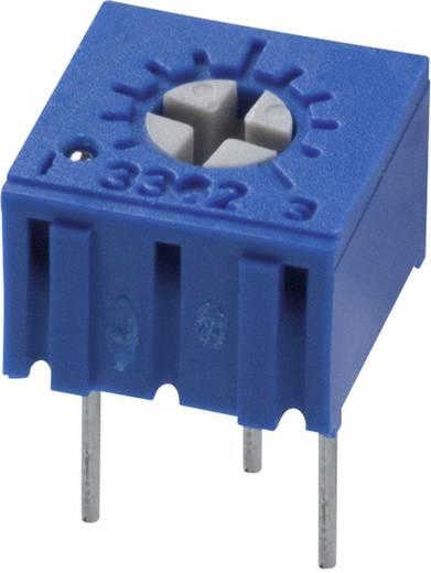 Trimmer potméter Bourns 3362P-1-204LF 200 kΩ zárt, kereszt tartó 0,5 W ± 10 %