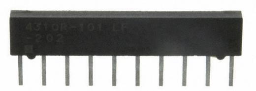Ellenállás hálózat 10 kΩ Radiális kivezetéssel 0.2 W, Bourns 4310R-101-103LF 1 db