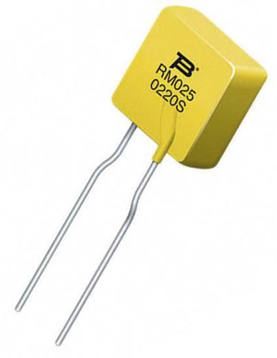 PTC biztosíték Áram I(H) 0.25 A 240 V (H x Sz x Ma) 27.6 x 10 x 3.8 mm, Bourns MF-RM025/240-2 1 db