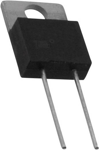Nagy terhelhetőségű ellenállás 3.3 Ω Radiális kivezetéssel TO 220 20 W, Bourns PWR220T-20-3R30F 1 db
