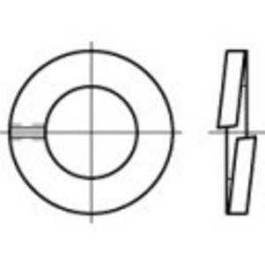 Rugós alátét, belső Ø: 7.1 mm DIN 127 100 db TOOLCRAFT 105630 (105630) TOOLCRAFT