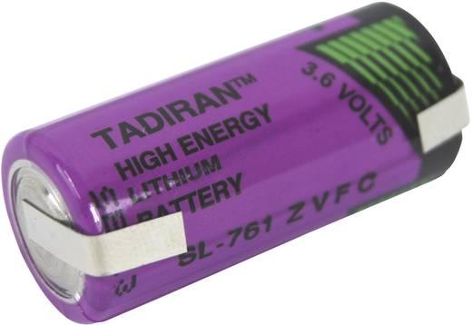 Lítium elem 2/3 AA U forrfüllel, Tadiran 3.6 V 1500 mAh 2/3 AA (Ø x Ma) 15 mm x 33 mm