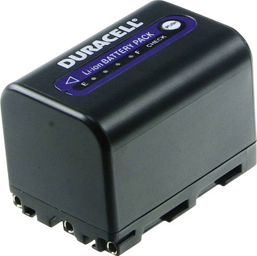 Kamera akku Duracell Megfelelő eredeti akku NP-QM71 7.4 V 2800 mAh