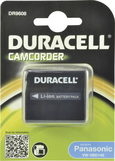 CGA-DU14A/1B Hitachi kamera akku 7,4V 1440 mAh, Duracell
