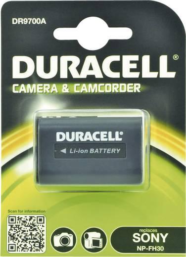 Kamera akku Duracell Megfelelő eredeti akku NP-FH30 7.4 V 650 mAh