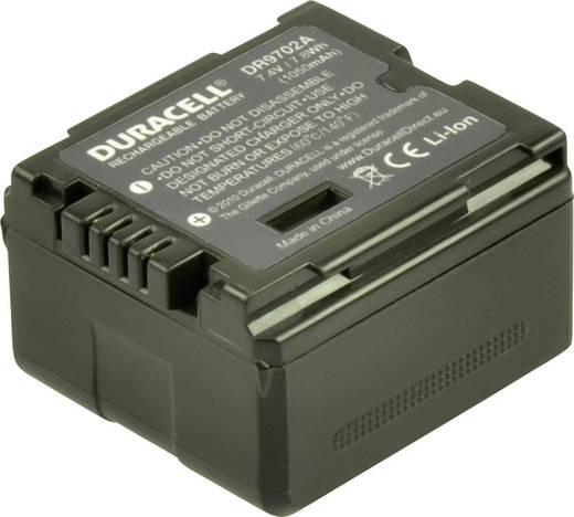 VW-VBG130 Panasonic kamera akku 7,4V 1050 mAh, Duracell