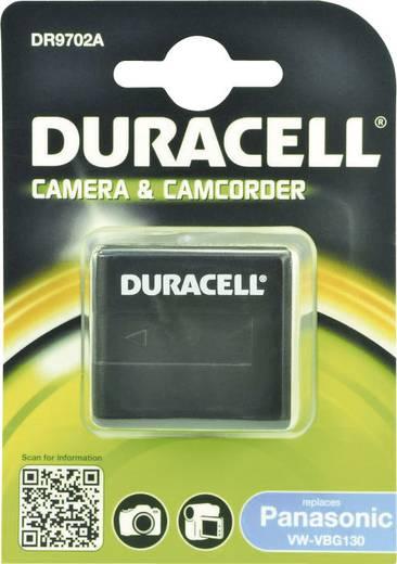 Kamera akku Duracell Megfelelő eredeti akku VW-VBG130 7.4 V 1050 mAh
