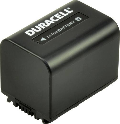 Kamera akku Duracell Megfelelő eredeti akku NP-FV30 7.4 V 650 mAh