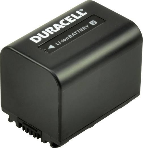 Kamera akku Duracell Megfelelő eredeti akku NP-FV70 7.4 V 1640 mAh