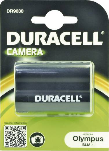 BLM-1 Olympus kamera akku 7,4V 1400 mAh, Duracell