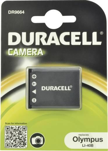 NP-45 Casio, Nikon, Olympus kamera akku 3,7V 630 mAh, Duracell