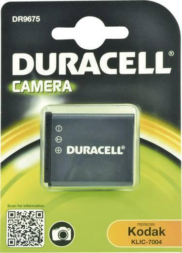 Kamera akku Duracell Megfelelő eredeti akku NP-50,KLIC-7004 3.7 V 770 mAh