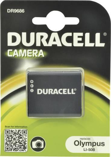 Kamera akku Duracell Megfelelő eredeti akku LI-50B,D-Li 92 3.7 V 770 mAh