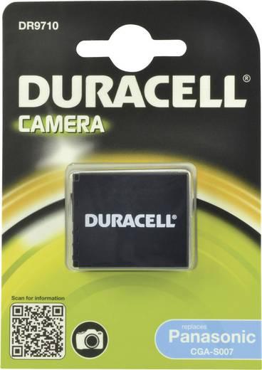Kamera akku Duracell Megfelelő eredeti akku CGA-S007,CGA-S007E 3.7 V 950 mAh