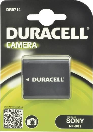Kamera akku Duracell Megfelelő eredeti akku NP-BG1 3.7 V 960 mAh