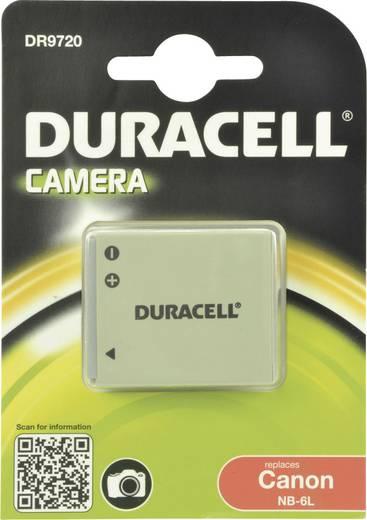Kamera akku Duracell Megfelelő eredeti akku NB-6L 3.7 V 700 mAh
