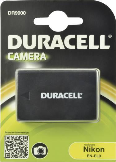 Kamera akku Duracell Megfelelő eredeti akku EN-EL9 7.4 V 1050 mAh