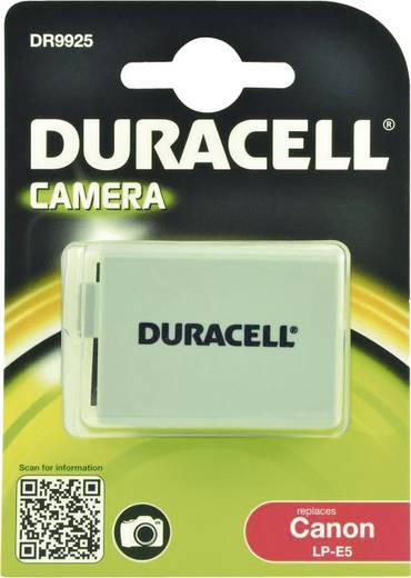 Kamera akku Duracell Megfelelő eredeti akku LP-E5 7.4 V 1020 mAh
