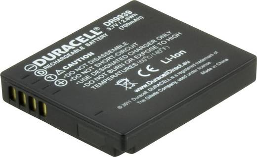 DMW-BCF10 Panasonic kamera akku 3,7V 700 mAh, Duracell