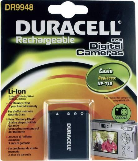 Kamera akku Duracell Megfelelő eredeti akku NP-110 3.7 V 820 mAh
