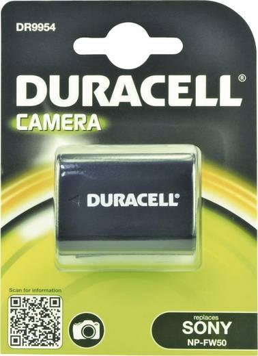 Kamera akku Duracell Megfelelő eredeti akku NP-FW50 7.4 V 900 mAh