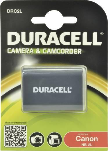 NB-2L, NB-2LH Canon kamera akku 7,4V 650 mAh, Duracell