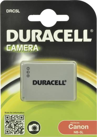 Kamera akku Duracell Megfelelő eredeti akku NB-5L 3.7 V 820 mAh