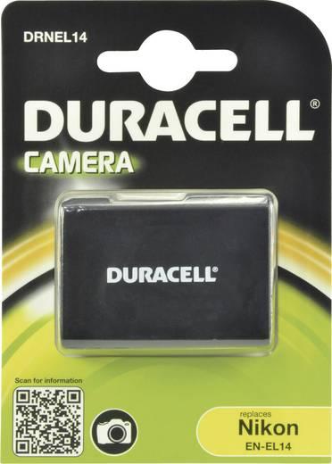 Kamera akku Duracell Megfelelő eredeti akku EN-EL14 7.4 V 950 mAh