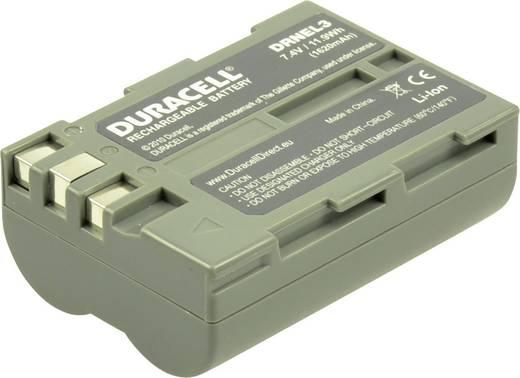 Kamera akku Duracell Megfelelő eredeti akku EN-EL3 7.4 V 1400 mAh