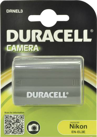 EN-EL3 Nikon kamera akku 7,4V 1400 mAh, Duracell