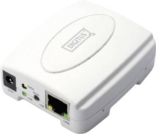 Hálózati USB-s szerver USB 2.0 LAN (10/100 MBit/s) Digitus DN-13003-1