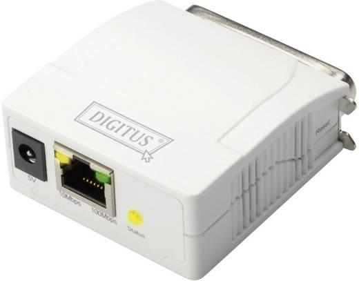 Hálózati nyomtatószerver LAN (10/100 MBit/s) Párhuzamos (IEEE 1284) Digitus DN-13001-1